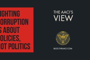 Fighting Corruption is about Policies, not Politics